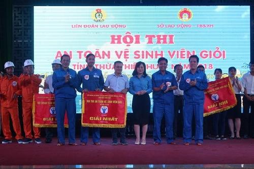 Hội thi An toàn vệ sinh viên giỏi tỉnh Thừa Thiên Huế năm 2018