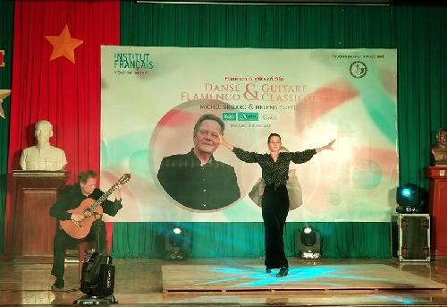 Đêm nhạc Flamenco - guitar cổ điển của Michel Grizard và Helena Cueto