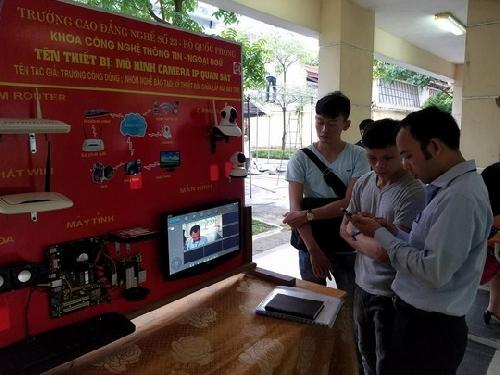Khai mạc Hội thi thiết bị đào tạo tự làm tỉnh Thừa Thiên Huế 2018