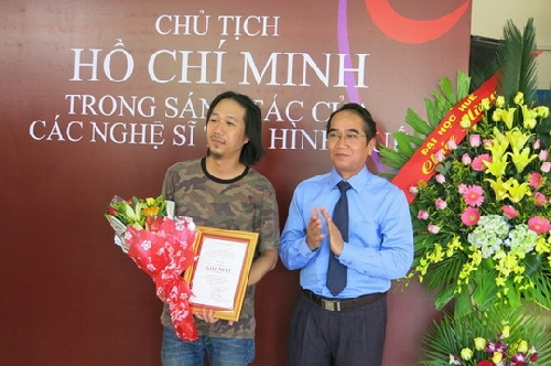 """Tổng kết, trao giải và khai mạc Triển lãm Mỹ thuật """"Chủ tịch Hồ Chí Minh trong sáng tác của các nghệ sĩ tạo hình Huế"""""""