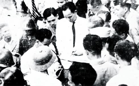 Người lái tàu đón Bác năm 1946