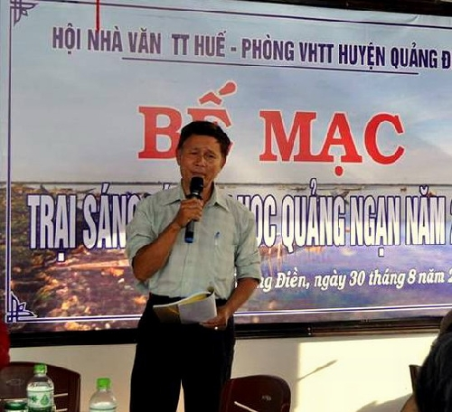 Bế mạc trại sáng tác Văn học Quảng Ngạn năm 2018.