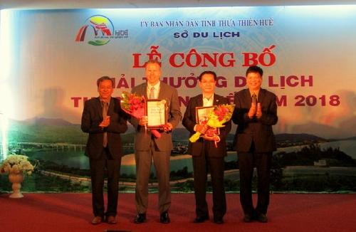 Lễ trao giải thưởng Du lịch năm 2018