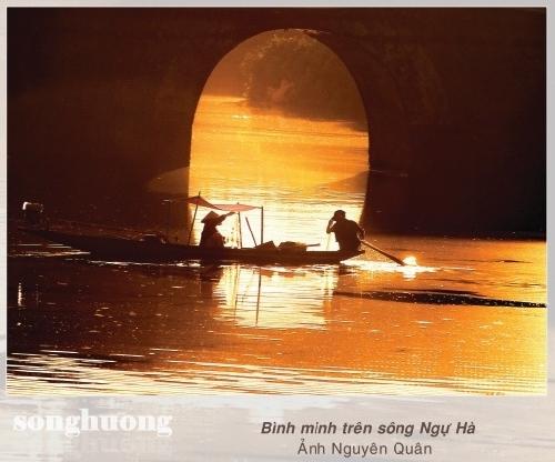 Thơ Sông Hương 10-2018