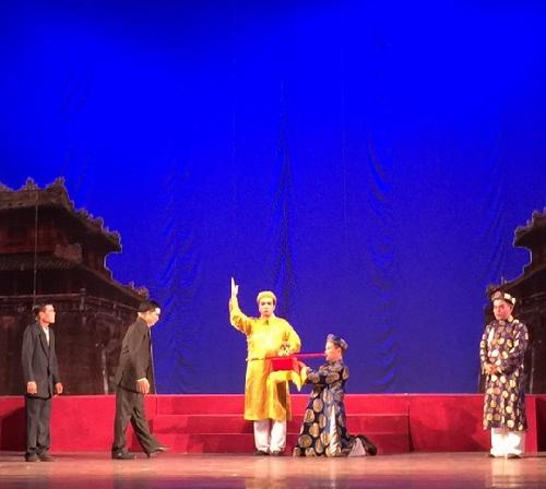 Đoàn Thừa Thiên Huế đạt nhiều giải thưởng tại Liên hoan nghệ thuật sân khấu chuyên nghiệp tuồng, bài chòi và dân ca kịch toàn quốc năm 2018