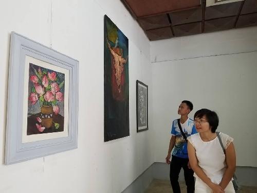 Triển lãm Mỹ thuật mừng ngày Nhà giáo Việt Nam 20 -11