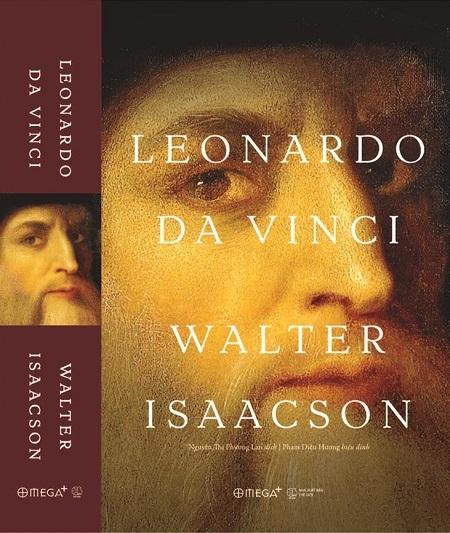 Sách về chân dung đa diện của thiên tài Leonardo Da Vinci