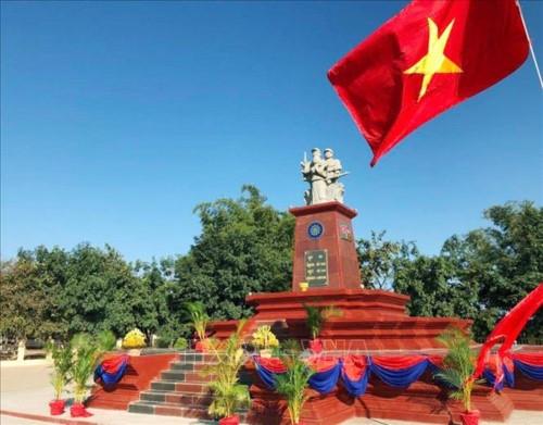 Campuchia khánh thành Đài Hữu nghị Việt Nam - Campuchia tại khu vực Đông Bắc