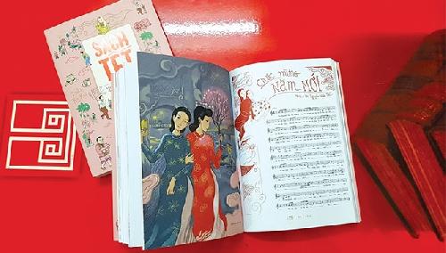 Nối lại truyền thống làm sách Tết