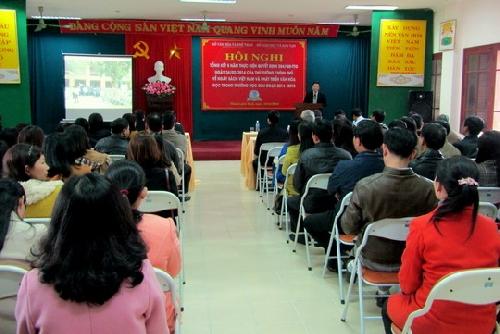 Tổng kết 5 năm về Ngày sách Việt Nam và phát triển văn hóa đọc trong trường học.