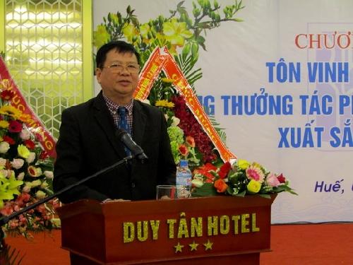 Trao tặng thưởng và tôn vinh văn nghệ sĩ Thừa Thiên Huế  năm 2018