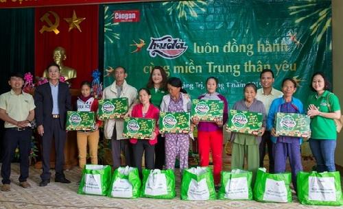 HUDA trao 7000 phần quà Tết cho người dân 8 tỉnh miền Trung