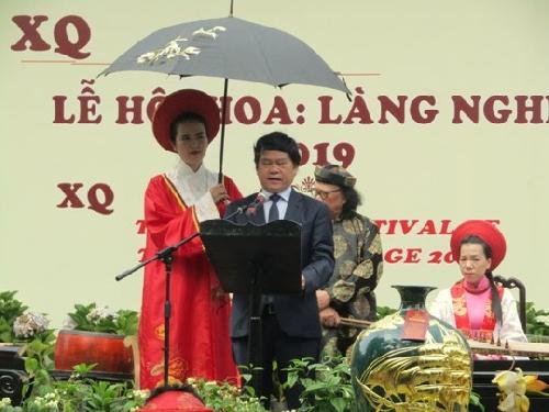 Lễ hội hoa làng nghề 2019
