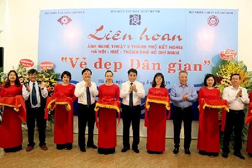 Khai mạc Liên hoan ảnh nghệ thuật Hà Nội - Huế - TP Hồ Chí Minh