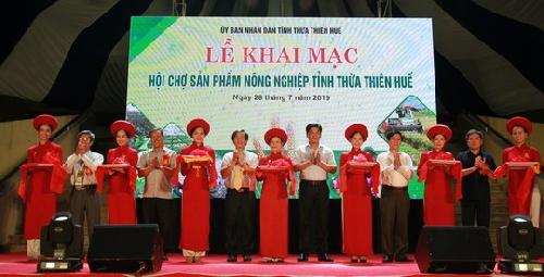 Hội chợ sản phẩm nông nghiệp tỉnh Thừa Thiên Huế năm 2019