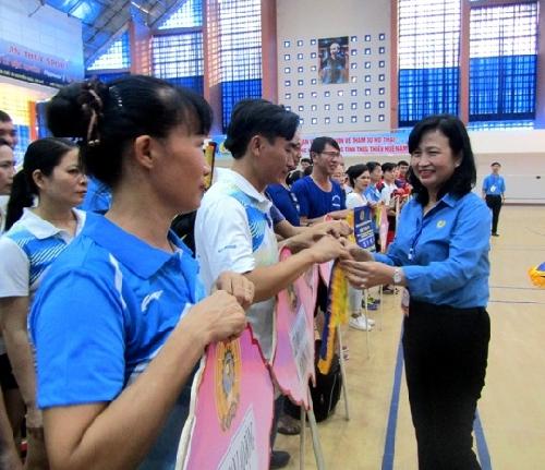 Hội thao đoàn viên Công đoàn và người lao động tỉnh Thừa Thiên Huế năm 2019