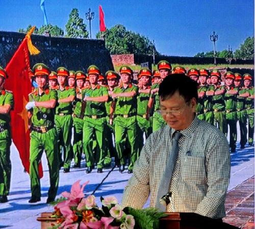 """Bế mạc trại sáng tác """"Công an Thừa Thiên Huế - Vì bình yên cuộc sống"""""""