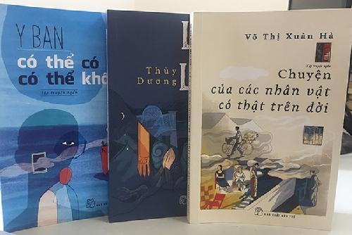 3 nữ nhà văn hẹn nhau cùng ra sách