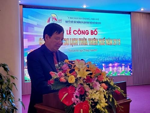 Trao giải thưởng Du lịch Thừa Thiên Huế năm 2019