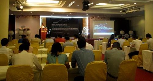 """Hội thảo """"Thực trạng và giải pháp vận hành hiệu quả cho hỗ trợ khởi nghiệp đổi mới sáng tạo tại địa phương"""""""