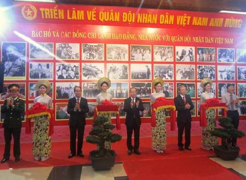 Triển lãm về Quân đội Nhân dân Việt Nam