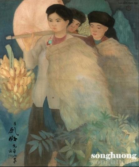 Nguyễn Nam Sơn - Thôn nữ Bắc kỳ