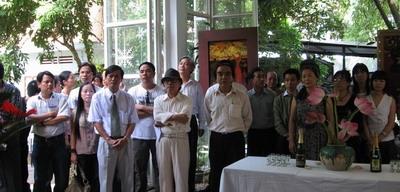 """Triển lãm """" Mùa tháng sáu""""- sự gặp gỡ nghệ thuật giữa Huế- Hà Nội"""