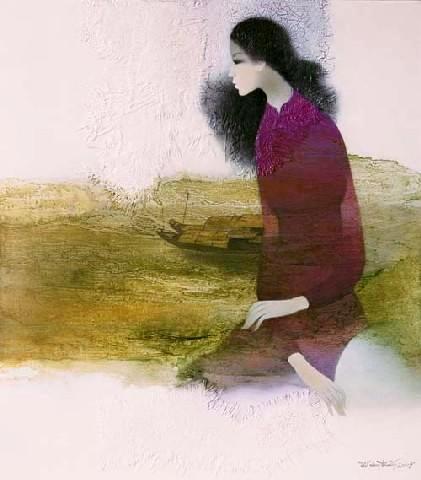 Vẻ đẹp người phụ nữ Huế trong hội họa nửa đầu thế kỷ XX