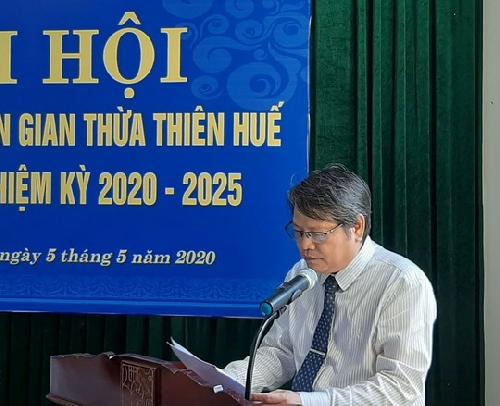 Đại hội Hội Văn nghệ Dân gian TT.Huế khóa VII, nhiệm kỳ 2020 – 2025
