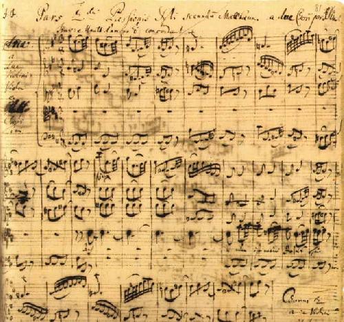 Các bản thảo cũ rọi ánh sáng vào âm nhạc của J.S. Bach