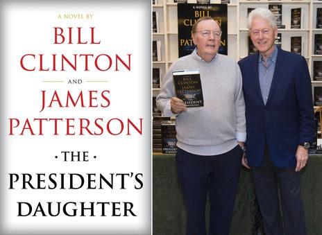 Bill Clinton và James Patterson tiếp tục ra mắt sách