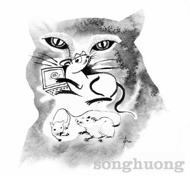 Mèo chuột ở làng @