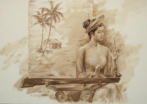 Khái niệm trống và mái trong âm nhạc truyền thống Huế