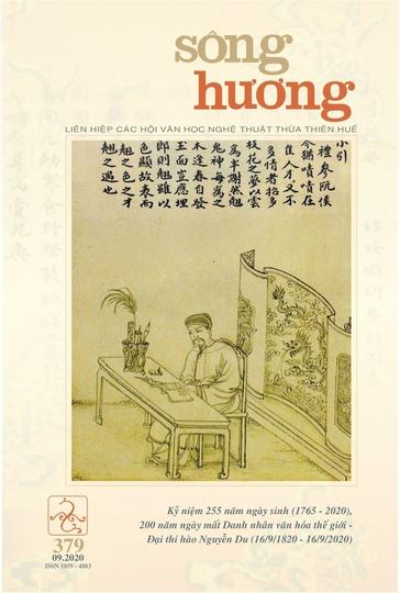 Đón đọc Sông Hương số 379, tháng 9 - 2020