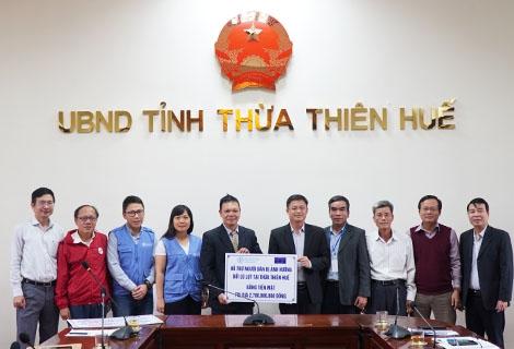 Cơ quan Lương thực và Nông nghiệp Liên hợp quốc hỗ trợ người dân Thừa Thiên Huế khắc phục hậu quả bão lụt