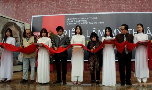 Triển lãm mỹ thuật mừng kỷ niệm 69 năm ngày truyền thống Mỹ thuật Việt Nam