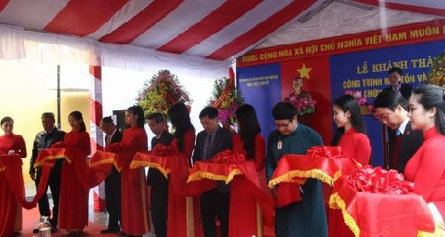 Khánh thành công trình bảo tồn và tôn tạo Khu chứng tích Lao Thừa Phủ