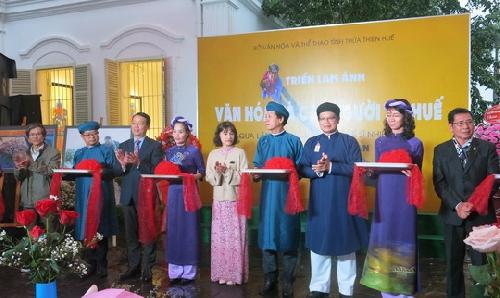 """Triển lãm ảnh """"Văn hóa và con người xứ Huế"""" của cố nghệ sĩ Nông Thanh Toàn."""