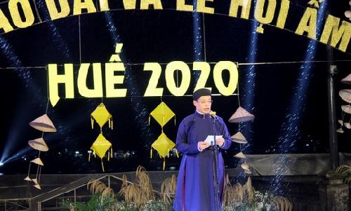 Khai mạc Ngày hội Áo dài và Lễ hội Ẩm thực Huế 2020.