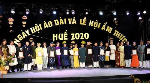 Bế mạc Ngày hội Áo dài và Lễ hội Ẩm thực Huế 2020.
