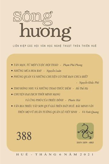 Đón đọc Sông Hương số 388, tháng 6 - 2021