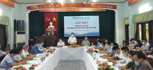 Sở GD&ĐT Thừa Thiên Huế hoàn thành nhiều chỉ tiêu phát triển giáo dục và đào tạo năm học 2020 – 2021