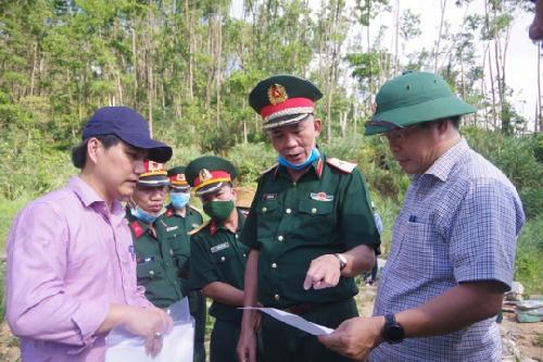 Xây dựng bia tưởng niệm 13 liệt sĩ hy sinh khi làm nhiệm vụ tại khu vực thuỷ điện Rào Trăng 3