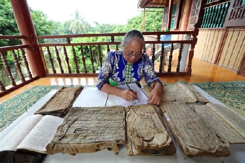 Truyền bá chữ Thái cổ: Khơi nguồn văn hóa Mường Then