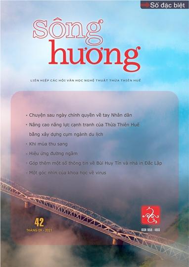 Đón đọc Sông Hương số đặc biệt 42, tháng 9 - 2021