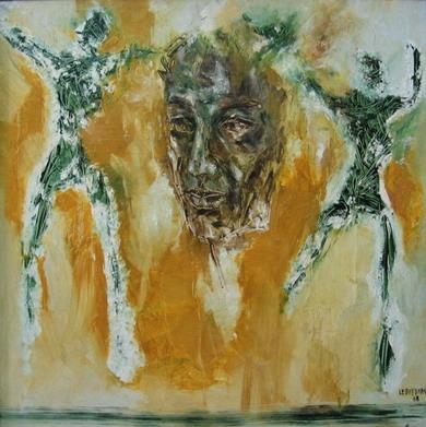 Phòng triển lãm đầu tiên của họa sỹ Lê Duy Đoàn