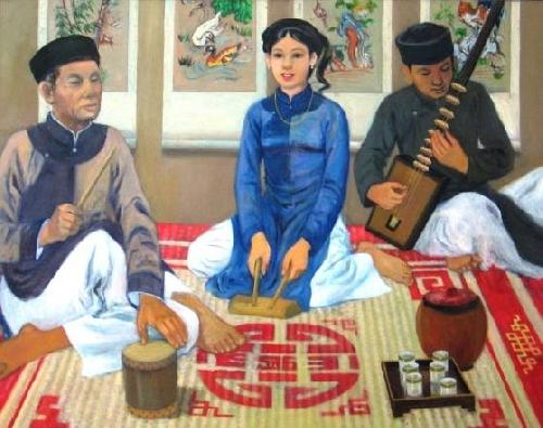 Quan họ và ca trù - Hai di sản văn hóa nhân loại