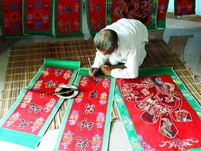 Sản phẩm thủ công và ý tưởng về tour du lịch làng nghề ở khu vực Đông Nam thành phố Huế